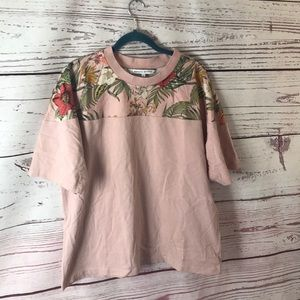Rebecca Minkoff floral shirt